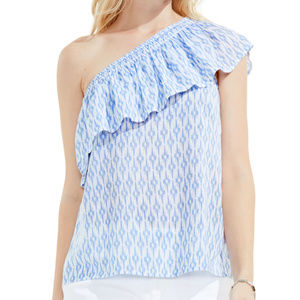 NEW Two by Vince Camuto Blouse Ruffled Size XS